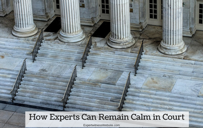 how experts remain calm